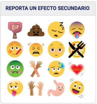 Efectos Advesos Emoticones