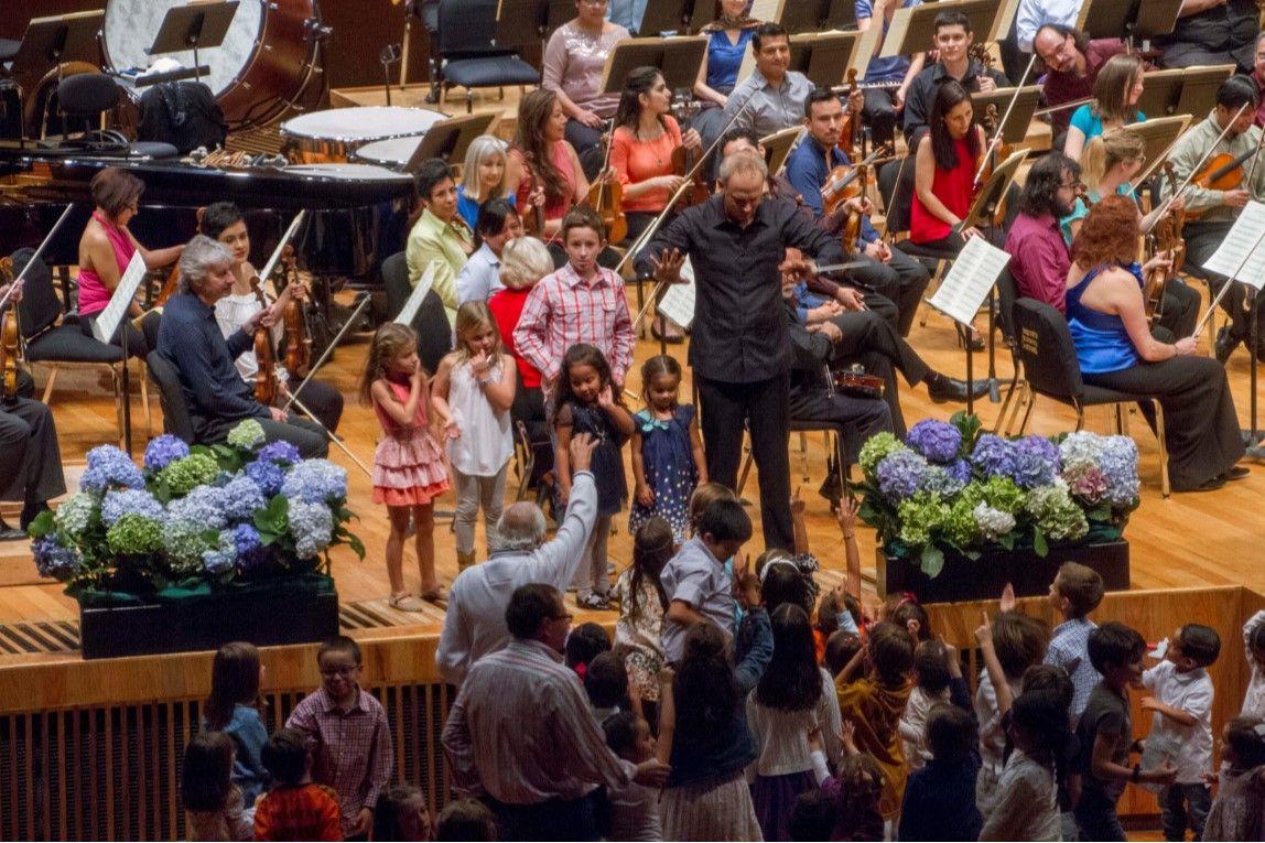 Fotografia Grupedsac y la Orquesta Sinfónica de Minería 2016