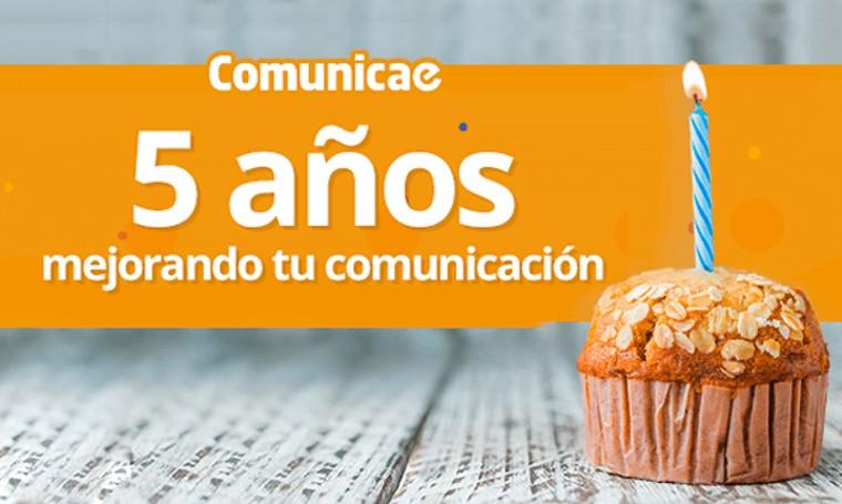 Fotografia Quinto aniversario de Comunicae