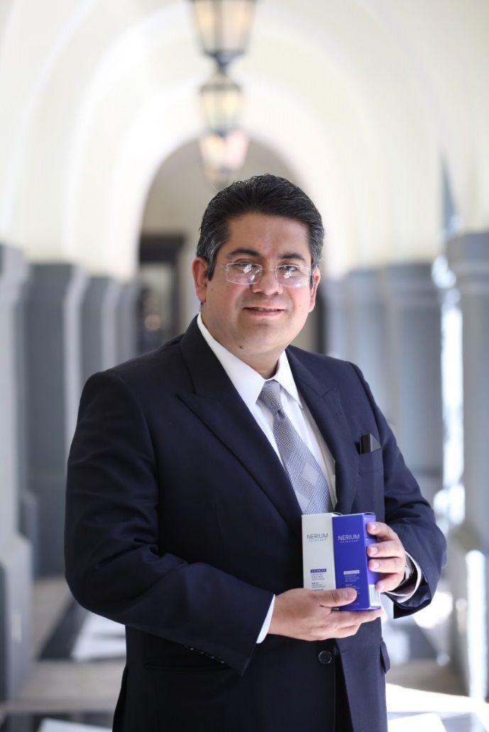 Fotografia Miguel Ángel Liceaga, representante en México de Nerium