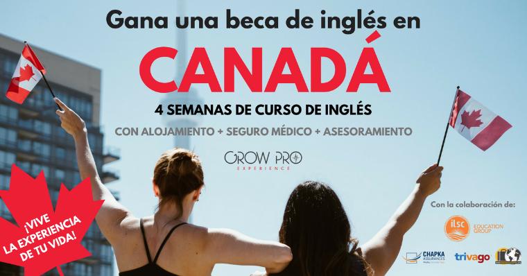 Fotografia Beca curso de inglés en Canadá GrowPro Experience