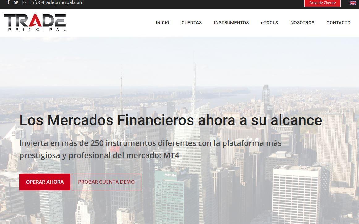 Fotografia Trade Principal página web