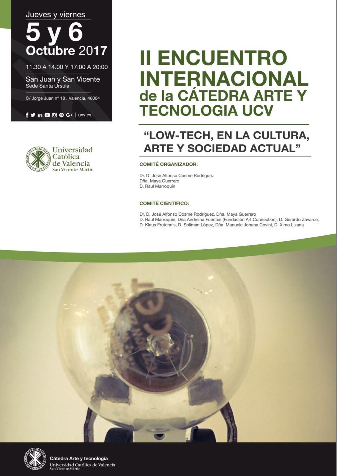 Fotografia II Encuentro Internacional de la Cátedra de Arte y