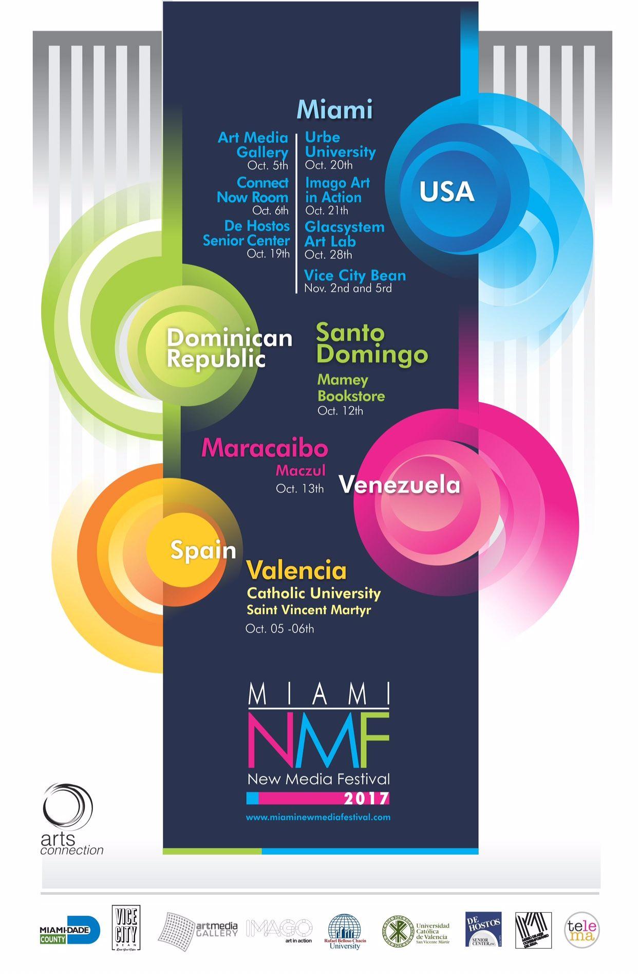 Fotografia Miami New Media Festival 2017