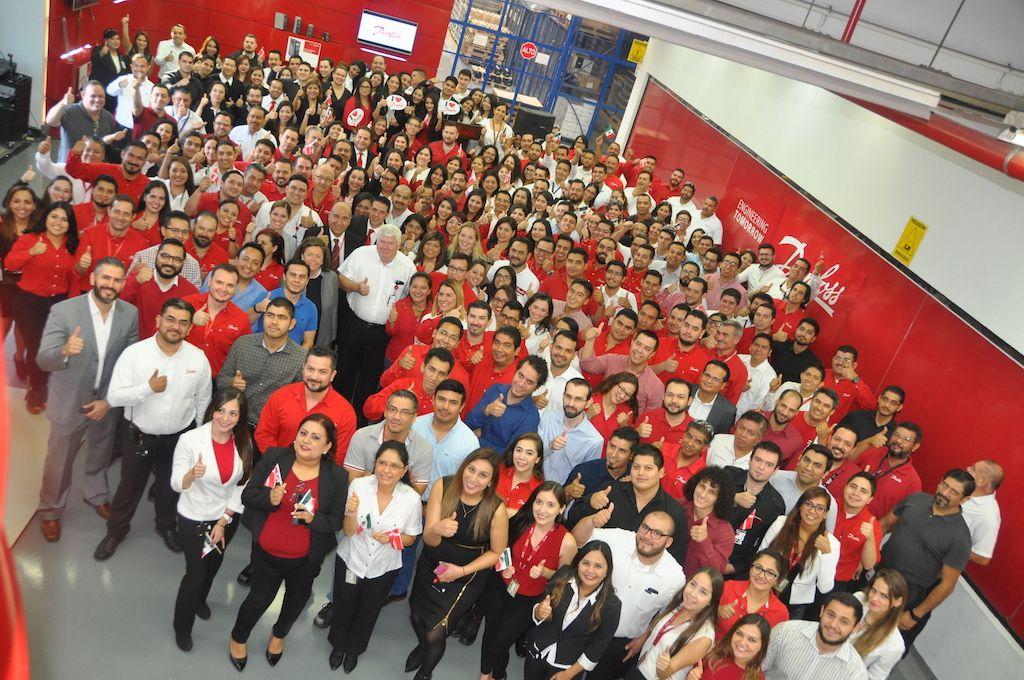Fotografia Planta Danfoss México