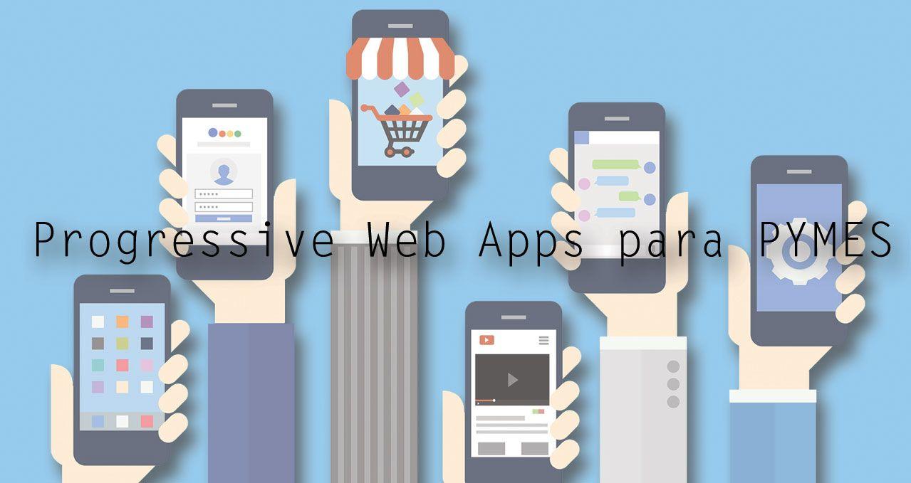Fotografia Progressive Web Apps para PYMEs