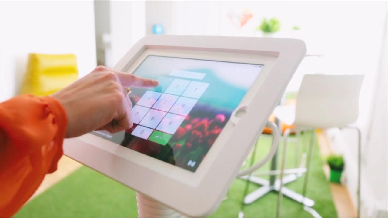 Sesame Wall: Registra entradas y salidas desde tu tablet