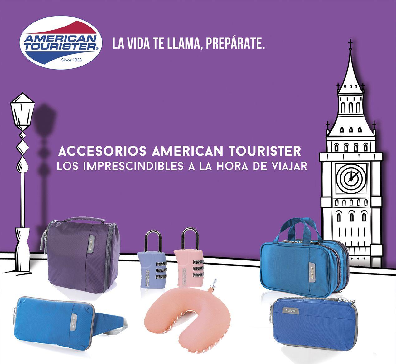 Accesorios American Tourister, los imprescindibles a la hora de viajar