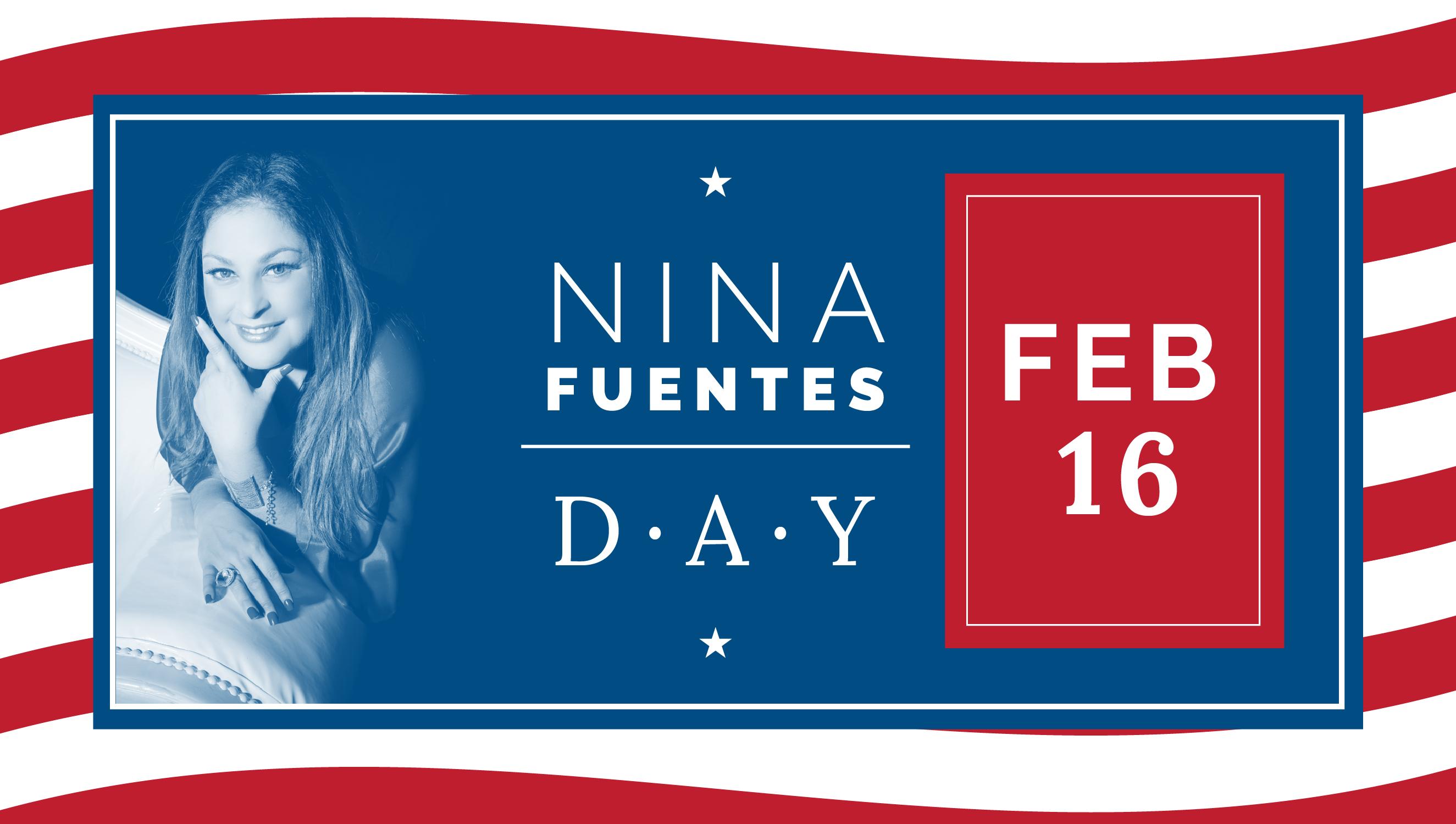 El 16 de febrero es el 'Nina Fuentes Day' en Miami-Dade