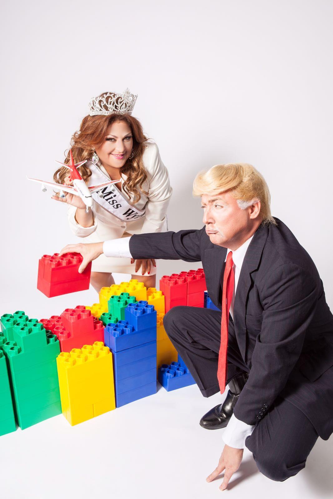 Fotografia Miss Wynwood & Donald Trump