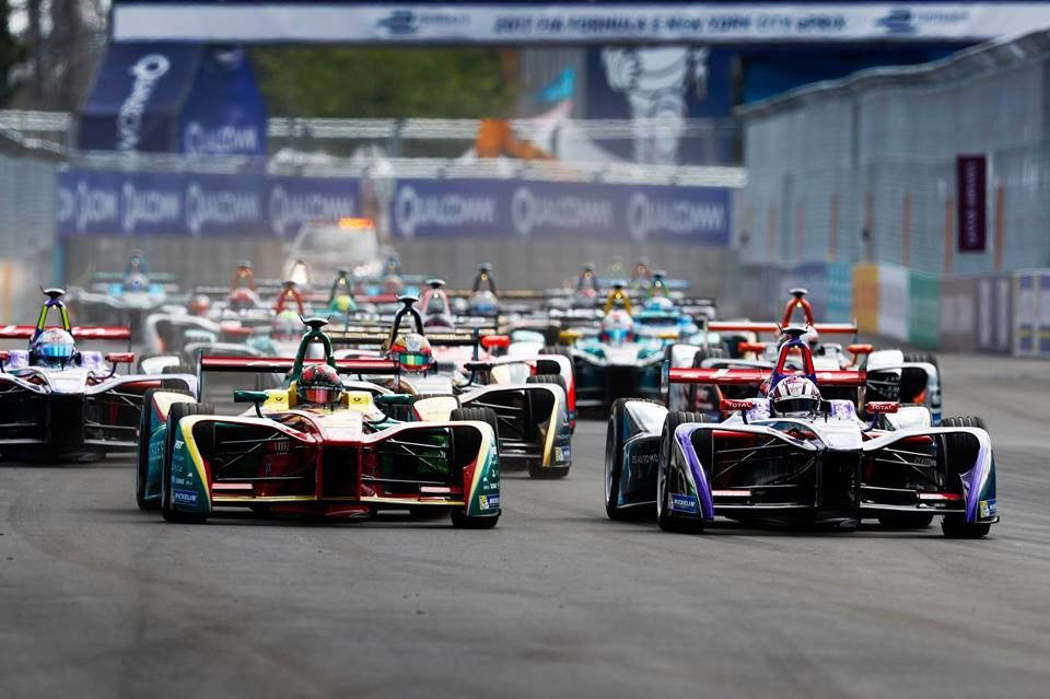 Fotografia Fórmula E