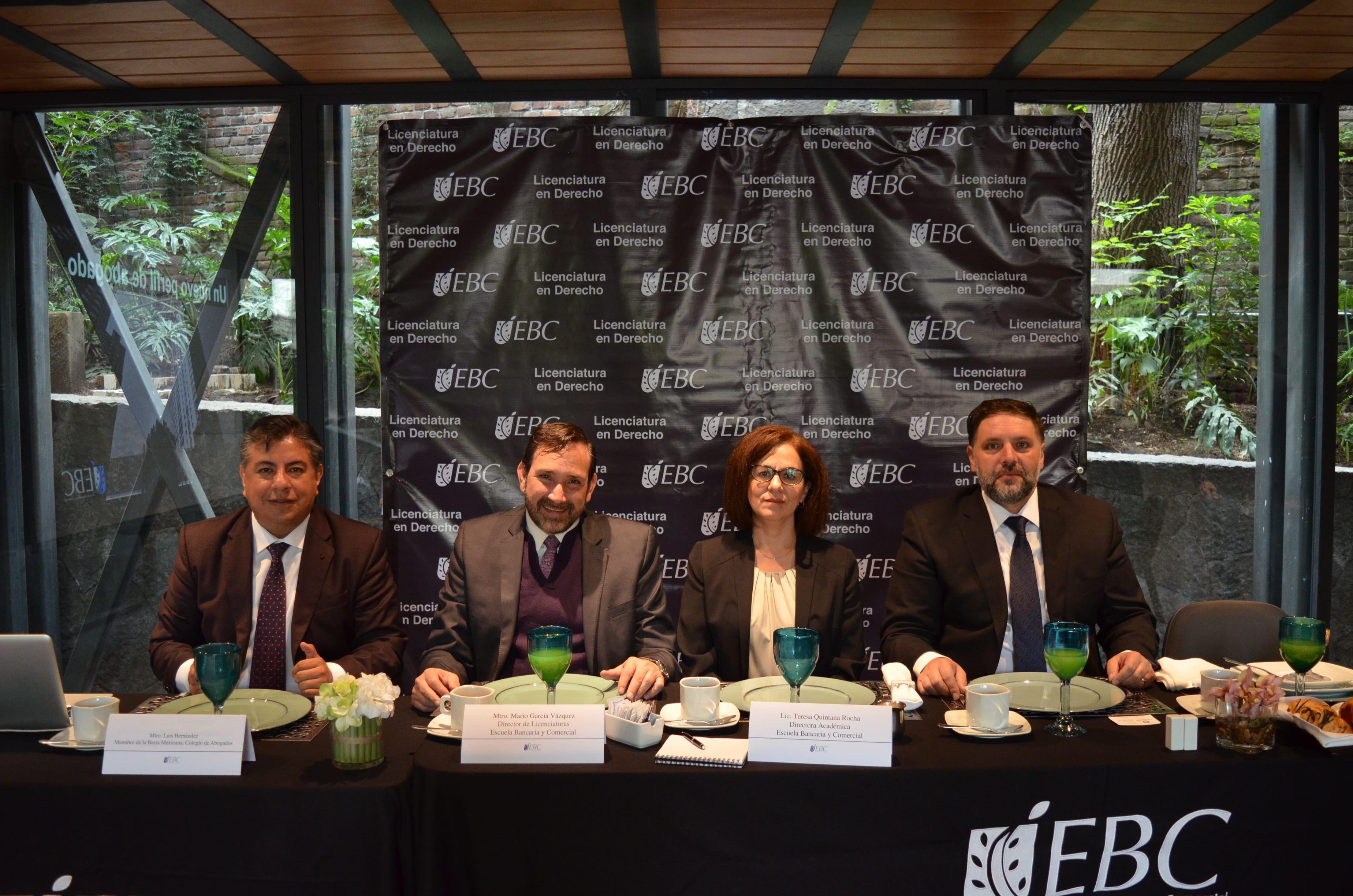 Fotografia La EBC presenta Lic. en Derecho
