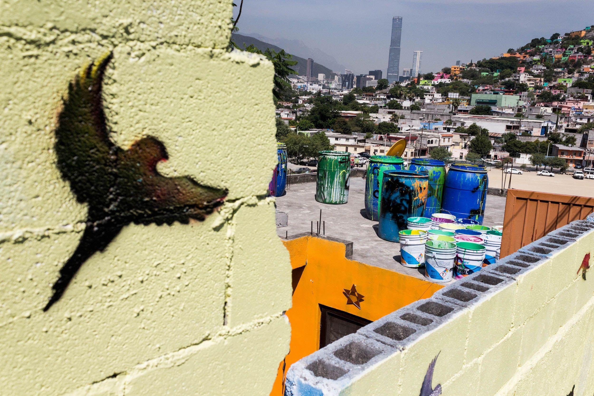 Fotografia Ave Stencil