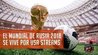 Rusia 2018 via streaming