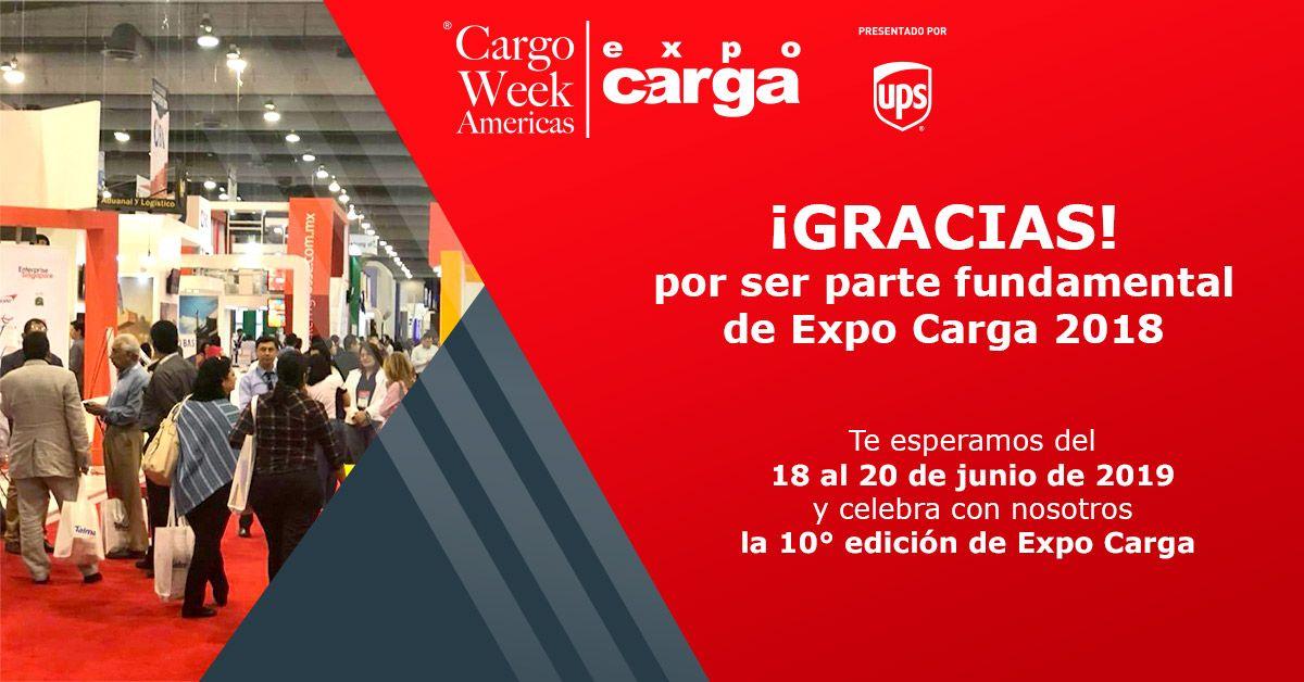 Fotografia Gracias por ser parte fundamental de Expo Carga 2018