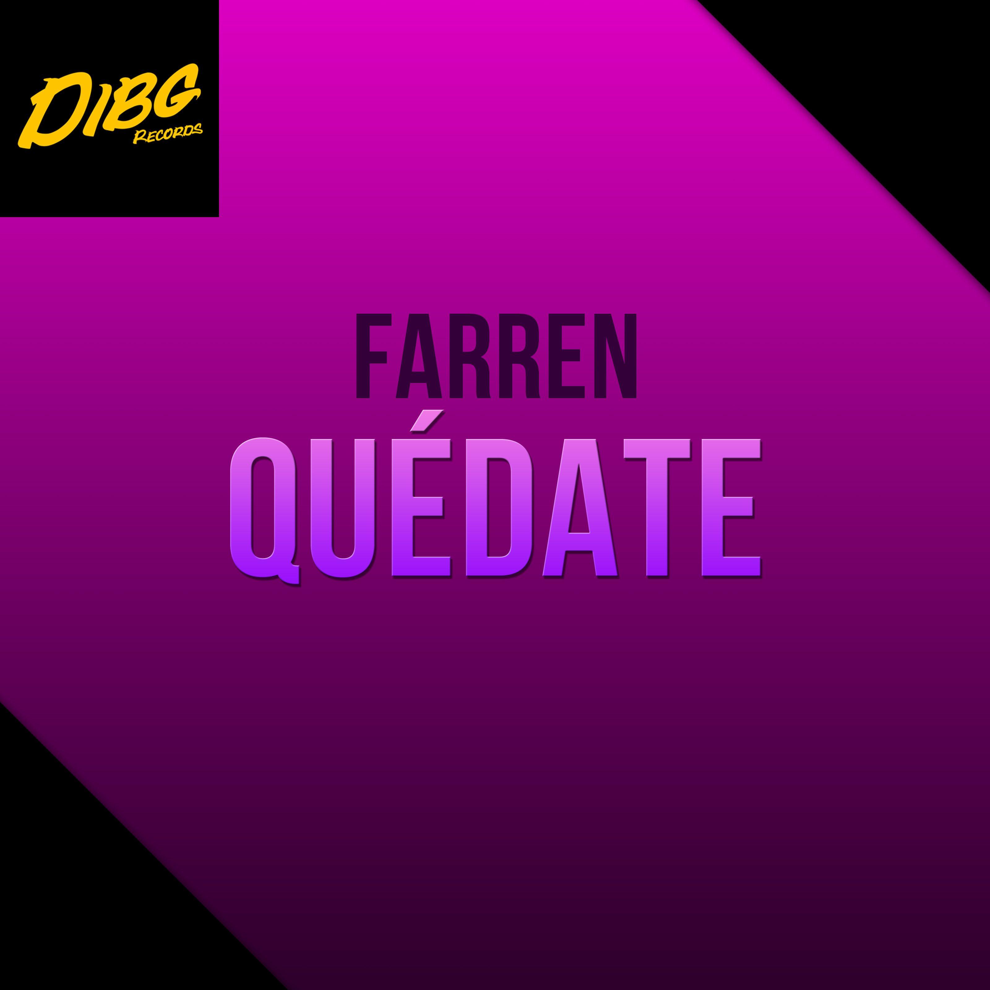 Fotografia Farren - Quedate (Album cover)