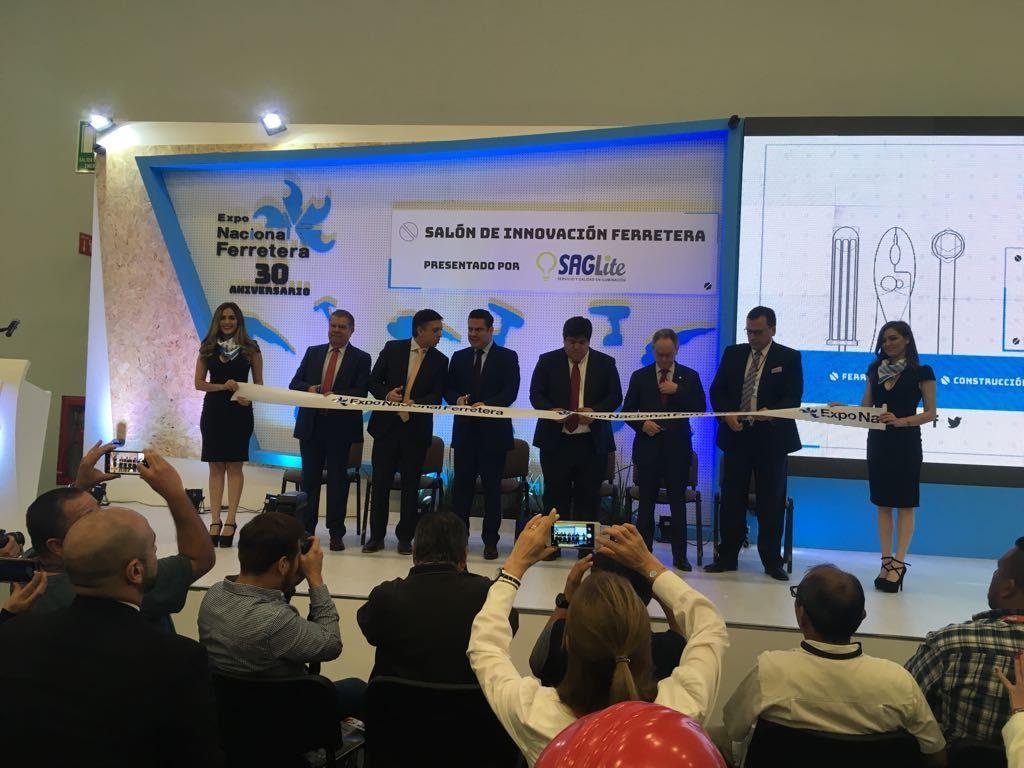 Fotografia Inauguración Expo Nacional Ferretera