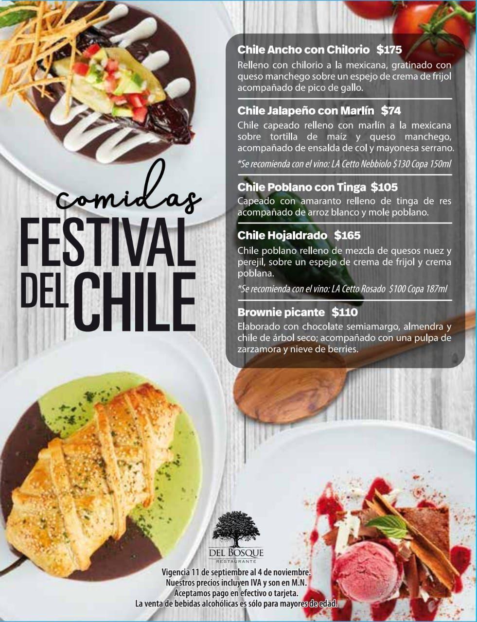Fotografia Comidas Festival de Chiles
