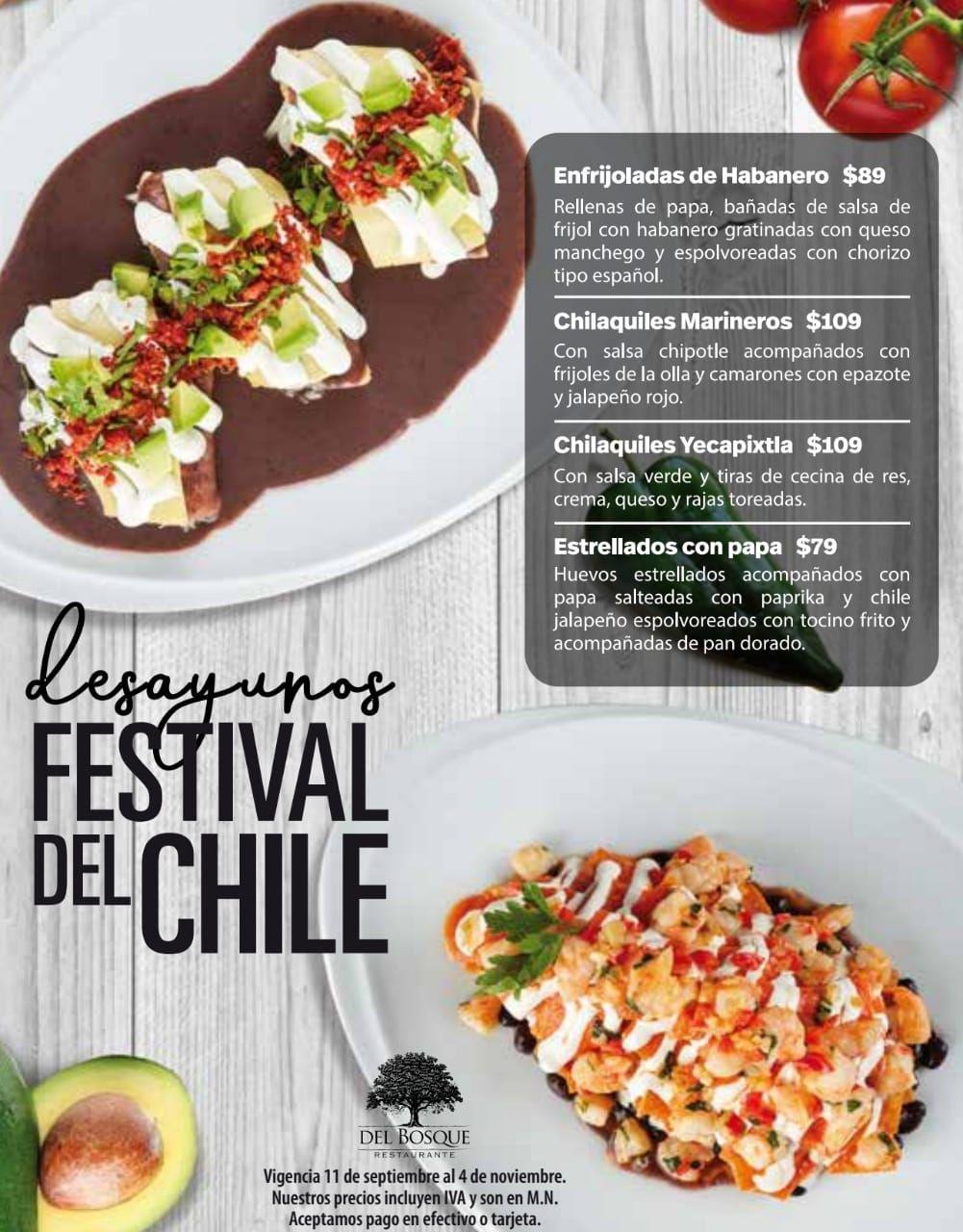 Fotografia Desayunos Festival de Chiles