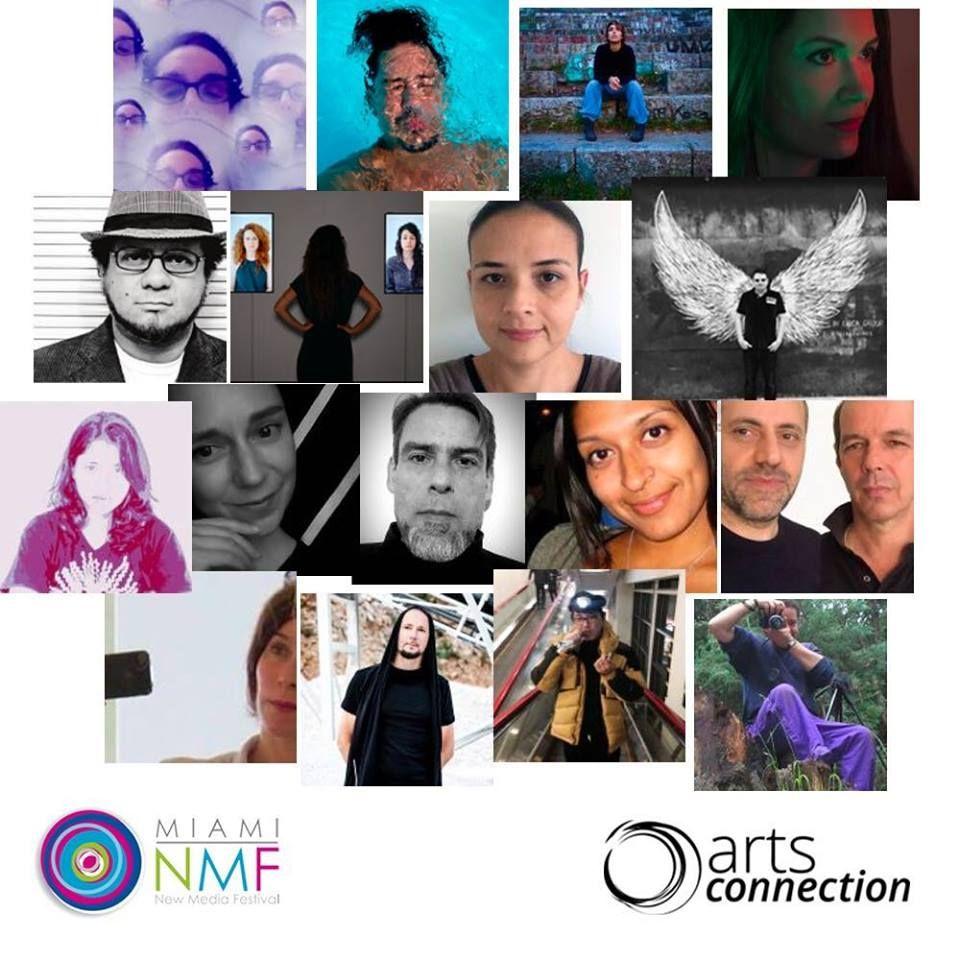 Fotografia Artistas seleccionados del Miami New Media Festival 2018