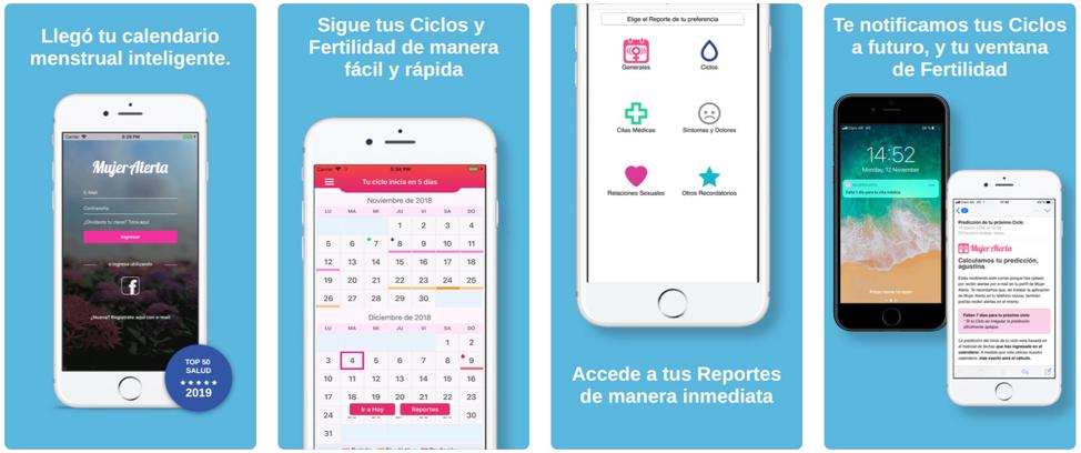 Mujer Alerta: Un calendario menstrual inteligente
