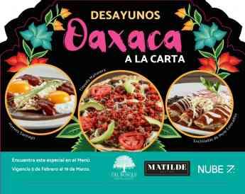 Noticias Viaje | Desayunos Oaxaca a la Carta