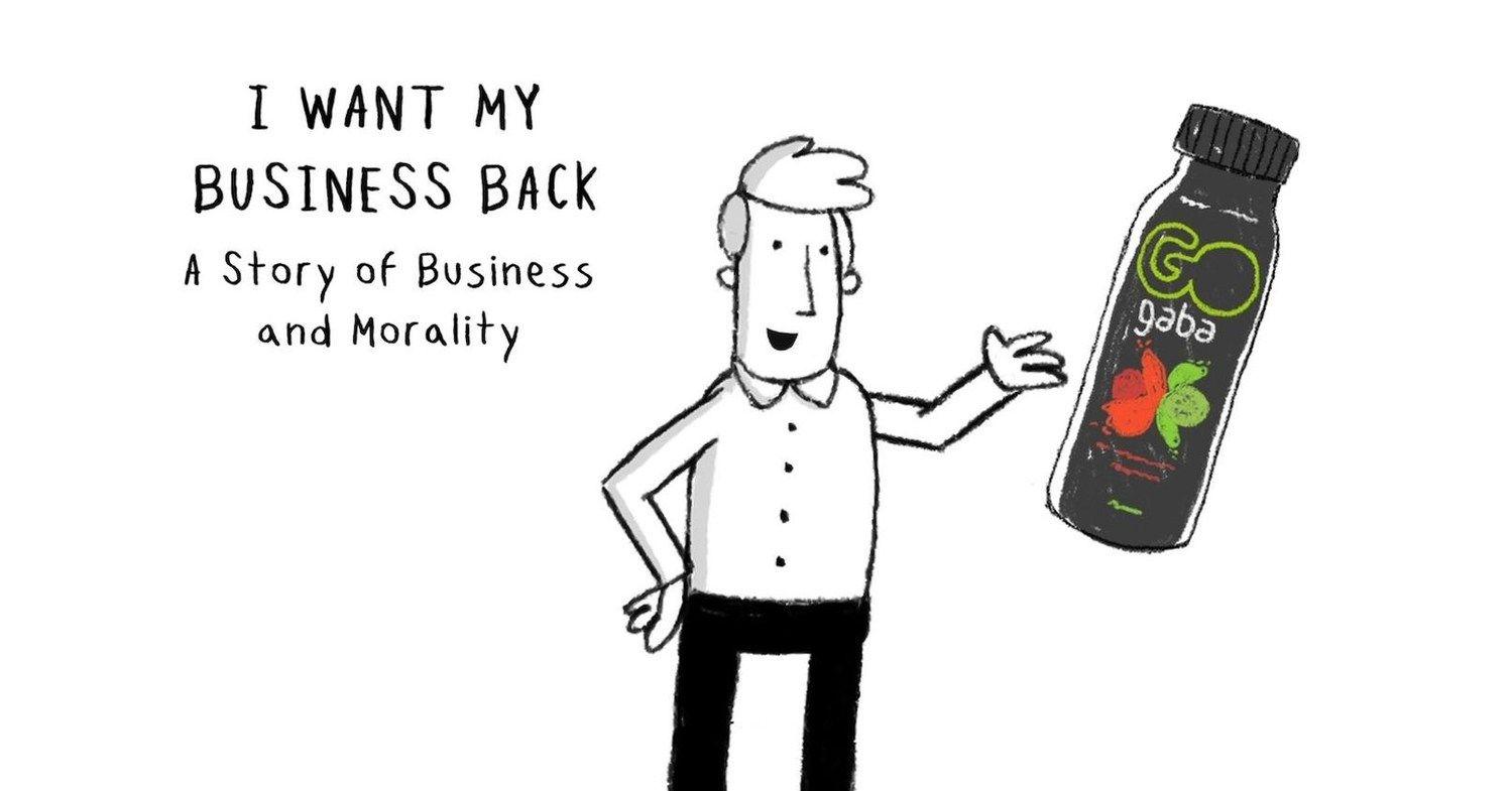 Fotografia I Want My Business Back