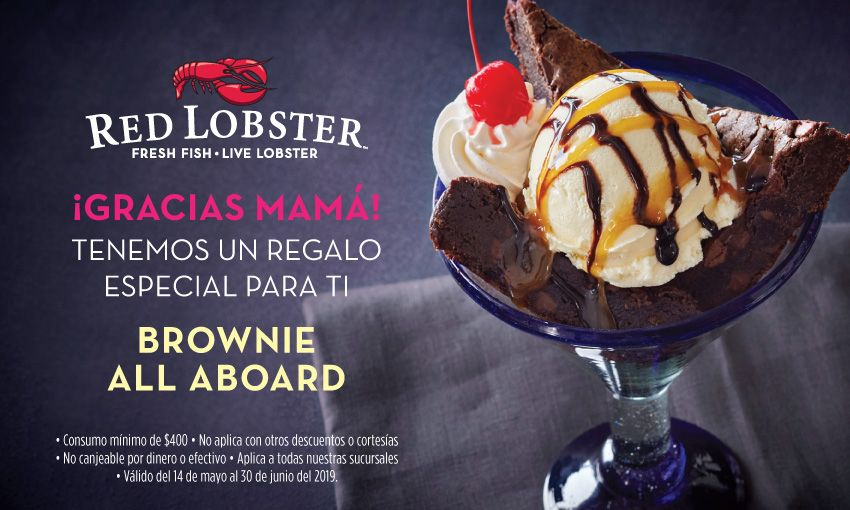 Fotografia Red Lobster agradece a mamá