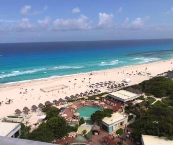 Hoteles de Cancún, libres de sargazo