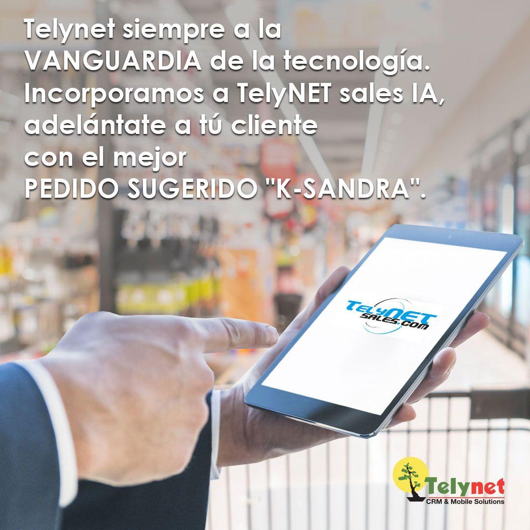 Fotografia TelyNET sales IA