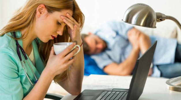 Fotografia Sindrome de Burnout
