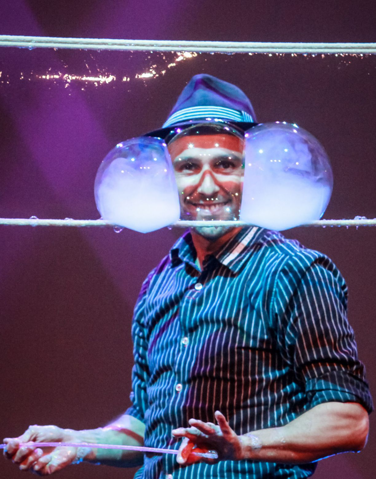 Fotografia El Señor de las Burbujas