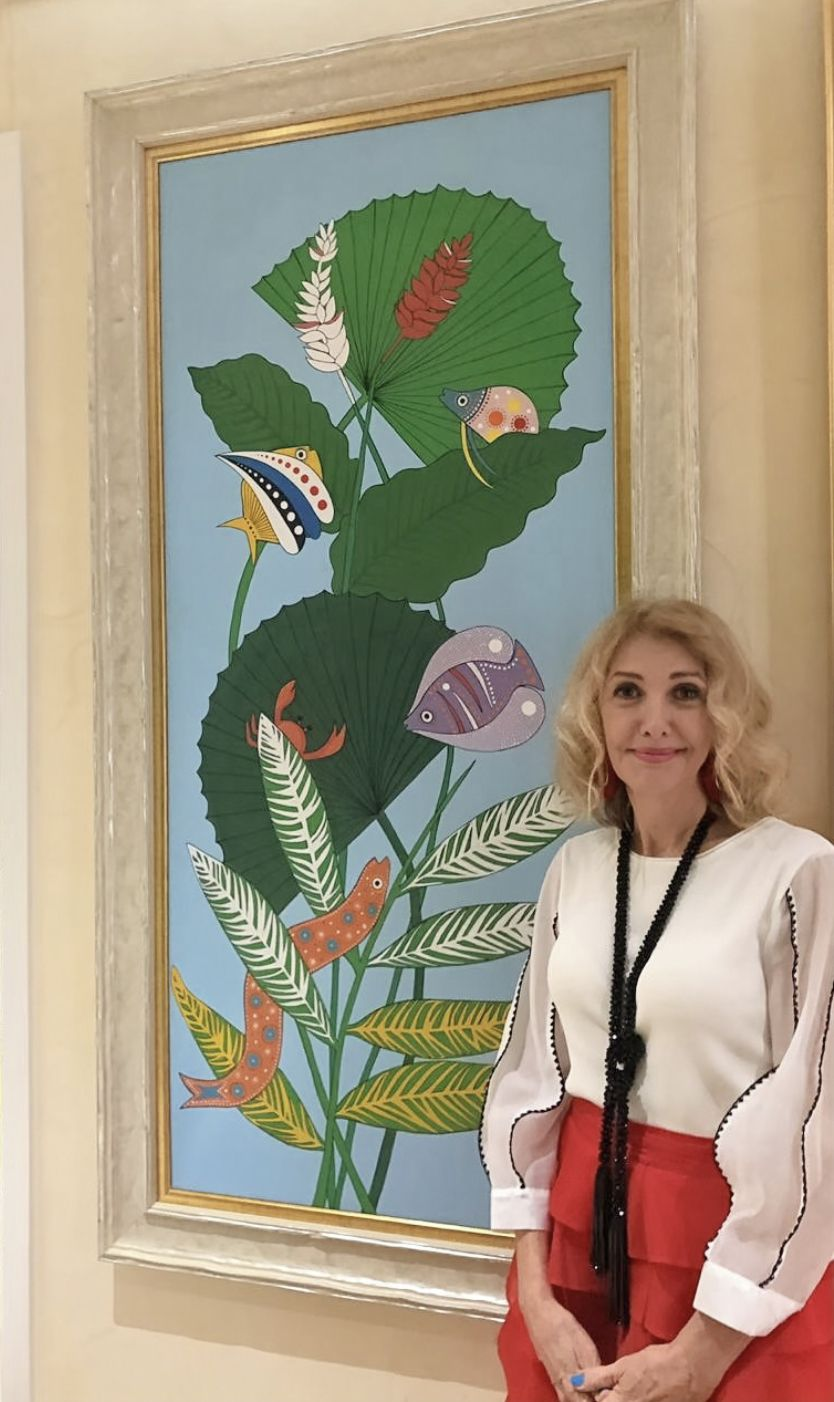 Fotografia Condesa Luciana Cacciaguerra Reni