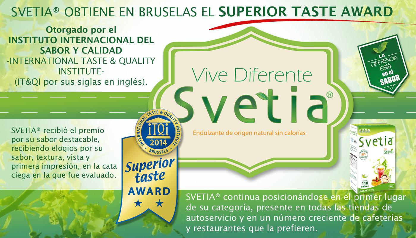 Svetia® obtiene en Bruselas el -Superior - Notas de prensa