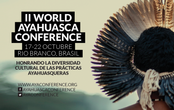 Cartel de la II World Ayahuasca Conference