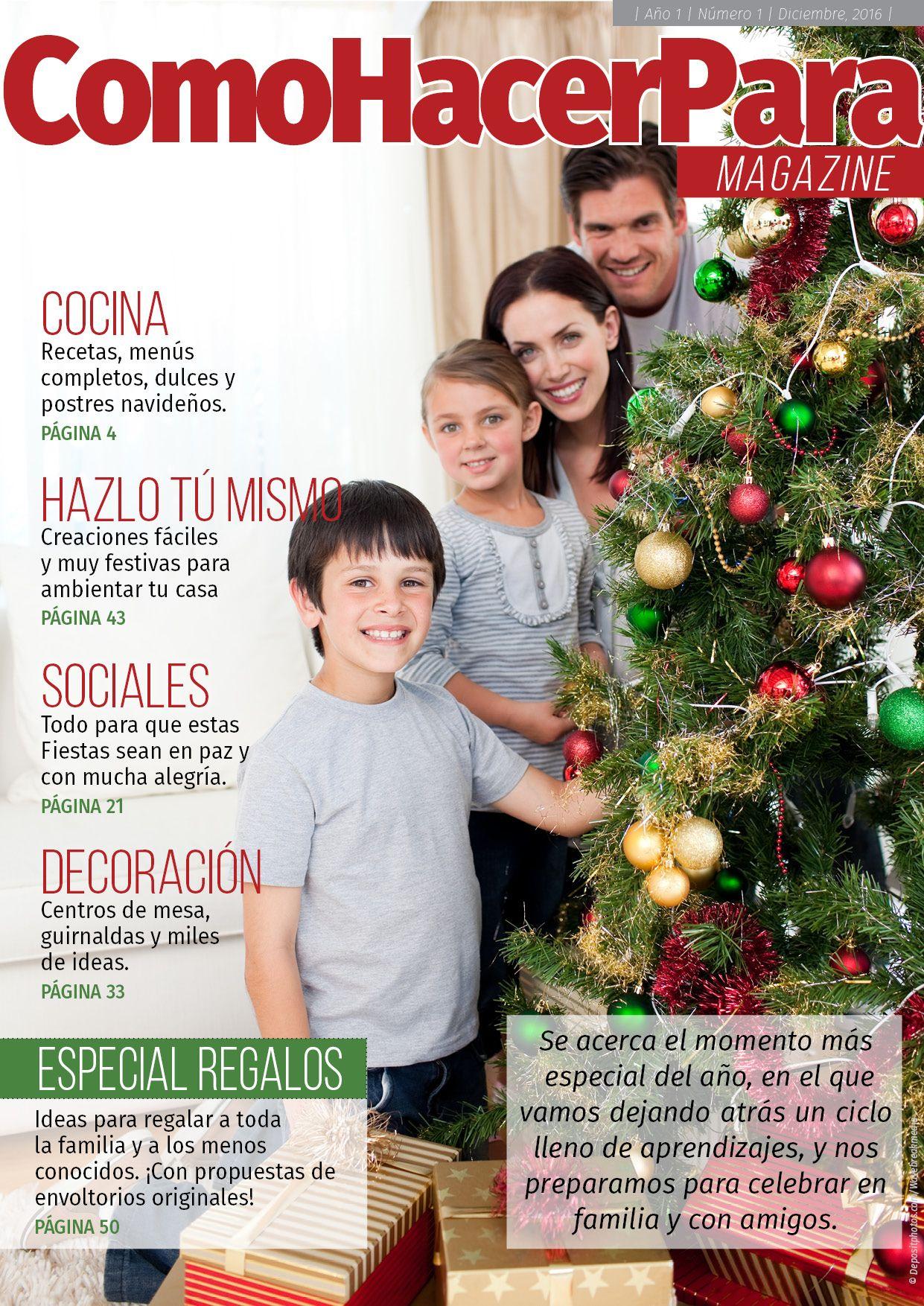Tapa de la revista Especial Navidad