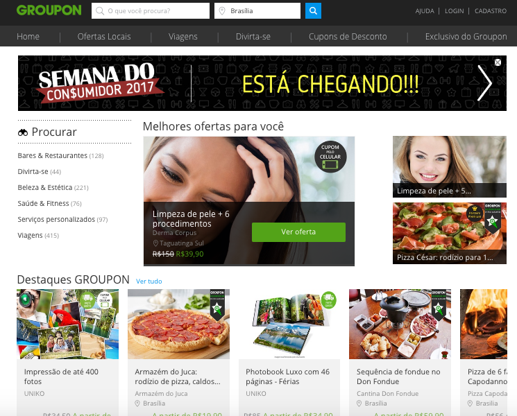 Mountain Nazca adquiere Groupon Brasil