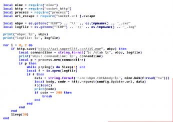 Ejecutando la encriptación
