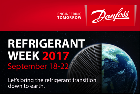 Danfoss promueve la semana de Refrigerantes 2017