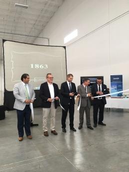 Inauguración de la planta de Daher en Querétaro