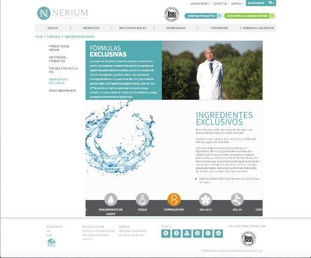 Foto de Nerium International usa la imagen del Dr. Newman para