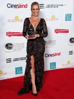 Natalia Denegri galardonada en Los Angeles y Atlanta