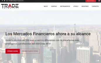 Trade Principal página web