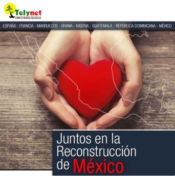 Juntos en la Reconstrucción de México