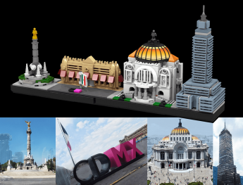 Foto de Lego Ciudad de México y sus referencias