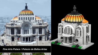 Foto de Palacio de Bellas Artes con su referencia