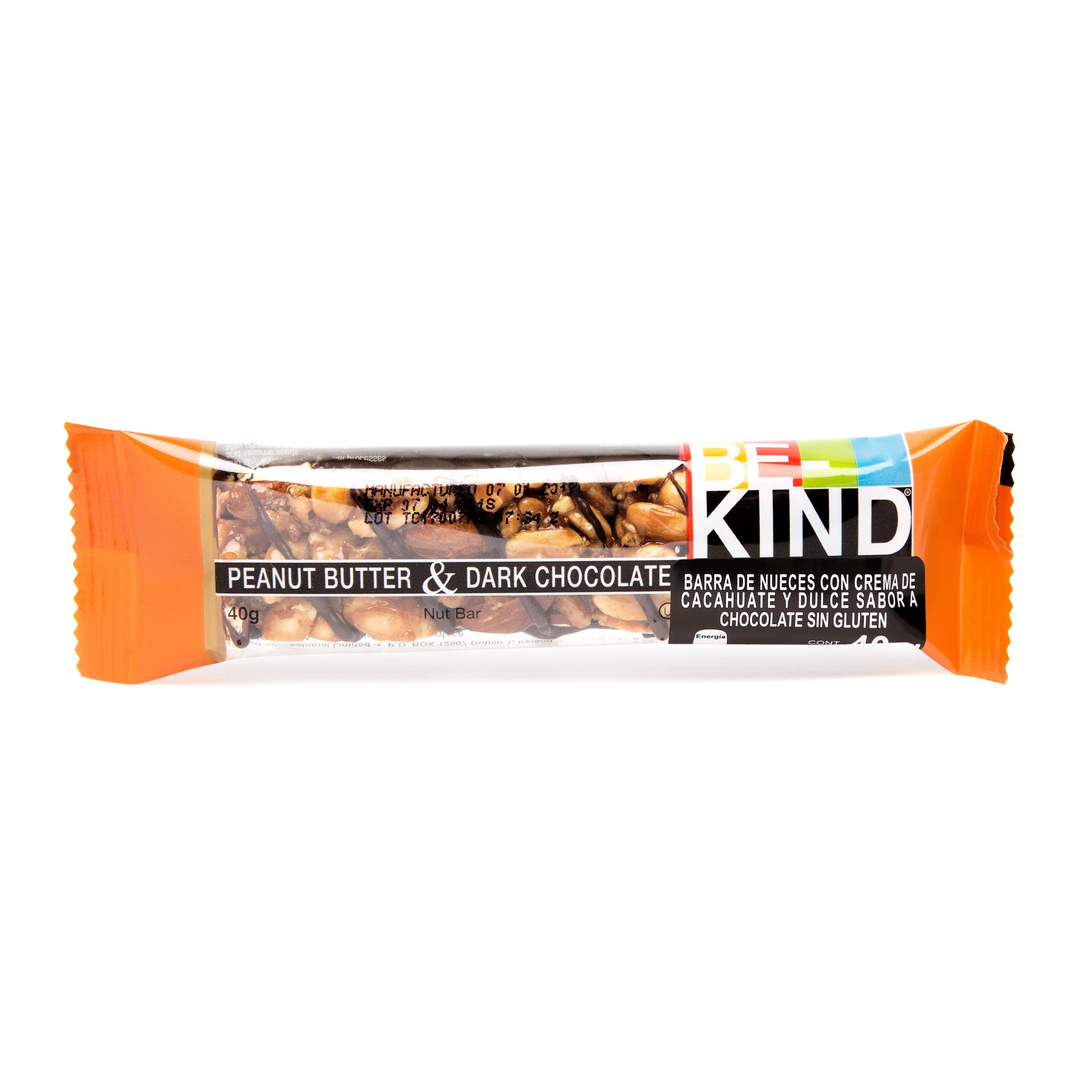 Foto de BARRA BE KIND PEANUT BUTTER Y DARK CHOCOLATE