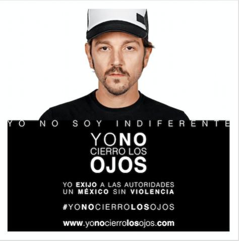 Foto de #YoNoCierroLosOjos
