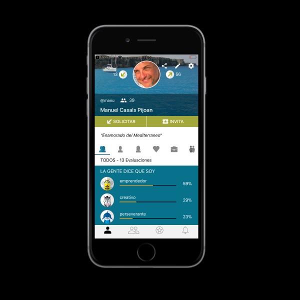 Uniks, una nueva app para evaluar amigos y mejorar el autoconocimiento