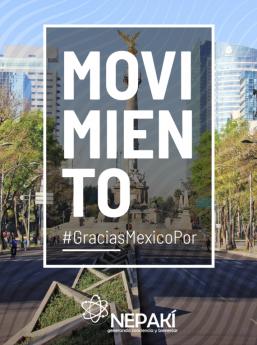 Movimiento #GraciasMexicoPor
